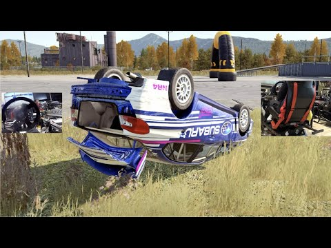 Dirt 4 GoPro - Motion Rig Flipping Cars MAX 250% Power!! (NextLevelRacing V3)