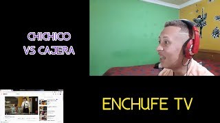 VENEZOLANO REACCIONA A ENCHUFE TV (CHICHICO VS CAJERA INEPTA) :o