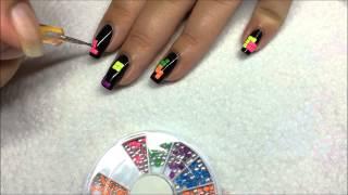 Nail art Tetris Thumbnail