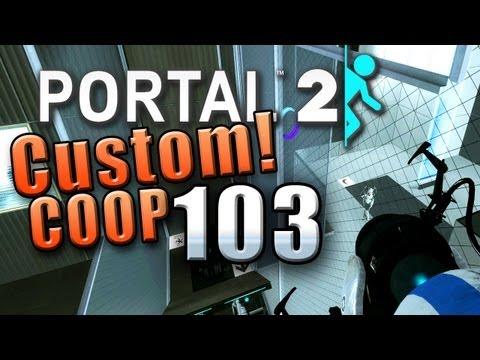 Let's Co-Op Portal 2 Custom #103 [Ger] - Zahn um Zahn - Tür um Tür [1/2]