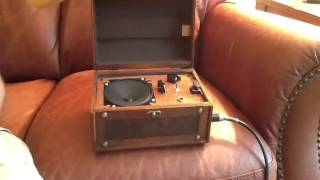 Coffee Table Guitar Amp In Trunk Style Box