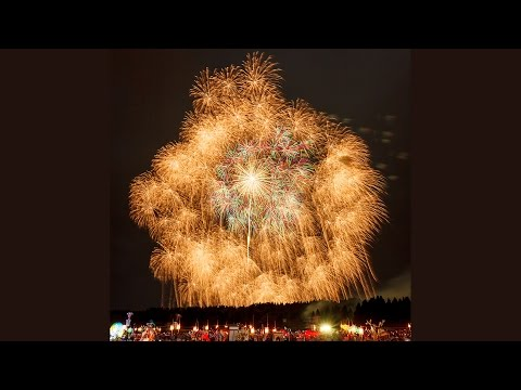 1200mm and 900mm shell ! Largest  Fireworks in the world  2014  四尺玉 片貝祭り