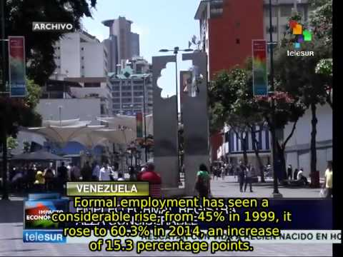 Venezuelan unemployment rate is down to 5.5%: report