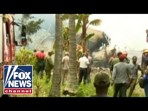 Plane carrying over 100 crashes near Havana airport