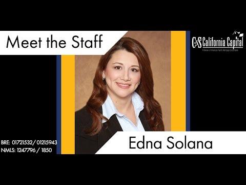 Meet the Team: Edna Solona