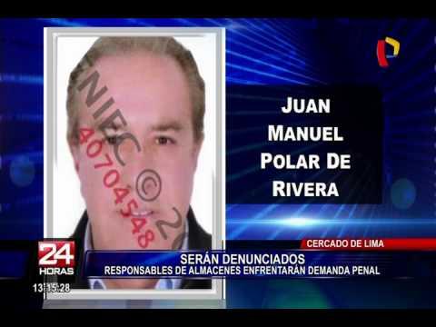 Municipalidad de Lima denunciará penalmente a responsables de almacenes en Las Malvinas