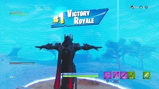 "*NUEVO* RED ""ICE KING"" SKIN GAMEPLAY Showcase (TIER 100 OUTFIT) Fortnite SEASON 7 BATTLE PASS"
