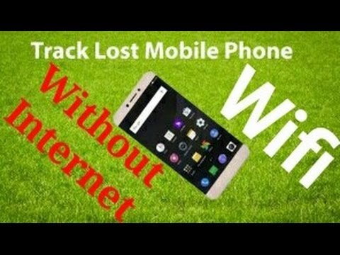 How to Find Lost Phone Without Internet and GPS - YouTube