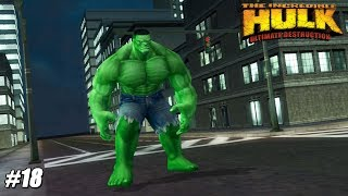 The Incredible Hulk: Ultimate Destruction - PS2 Gameplay Playthrough 1080p (PCSX2) PART 18