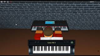 Jocelyn Flores - 17 by: XXXTENTACION/Shiloh Dynasty/Jahseh Onfroy on a ROBLOX piano.