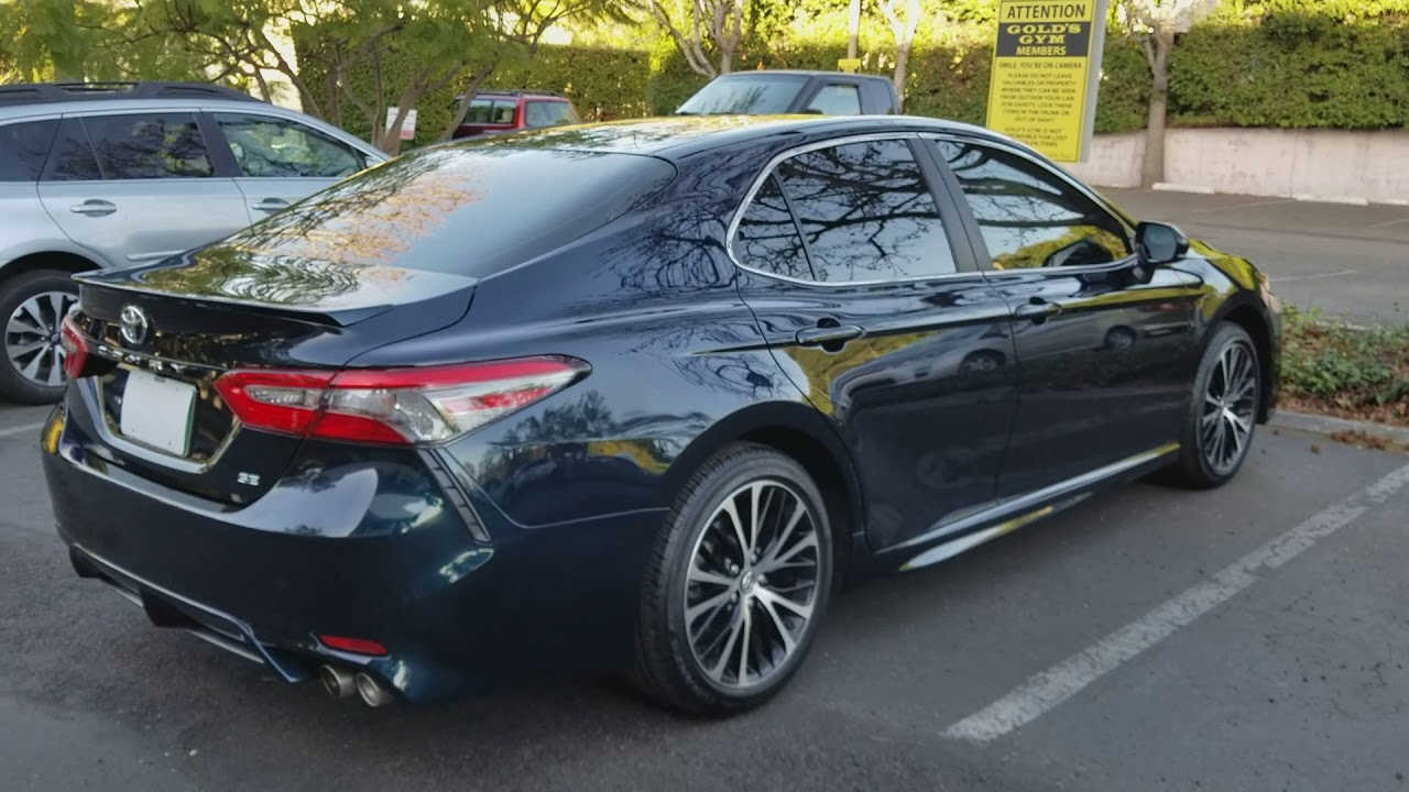 2018 Camry Xse >> New tint on my 2018 Camry - YouTube