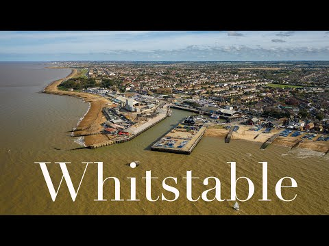 Whitstable UK Dji Mavic 2 Pro 10bit D-Log M