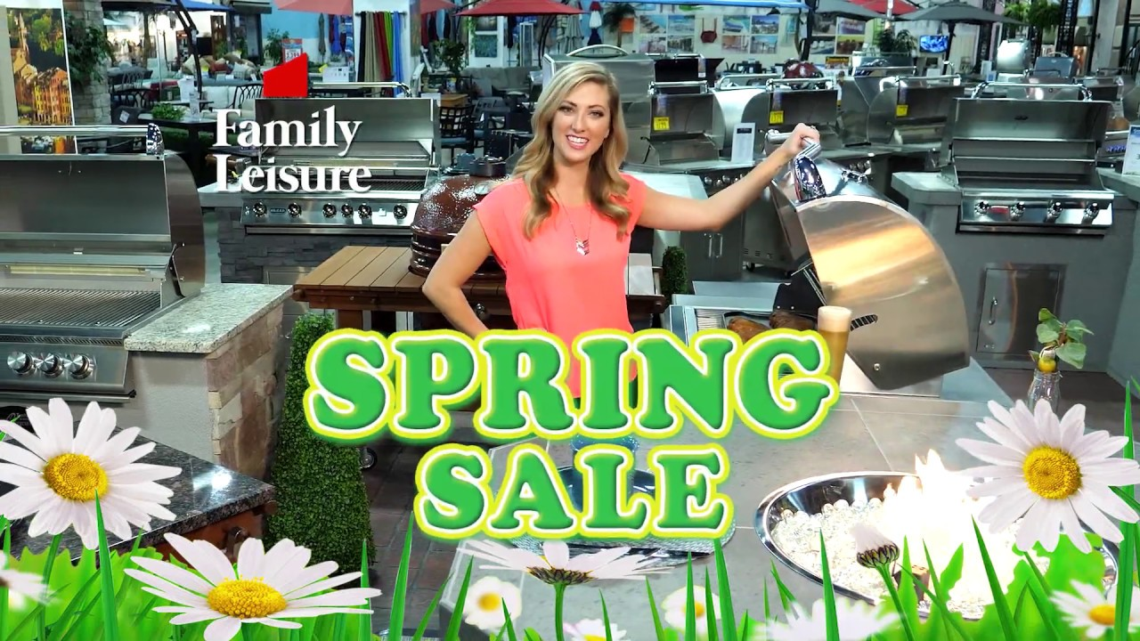 Family Leisure | Spring Sale v1 | March-April 2019 - YouTube