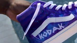 color of his vans collaboration shoes