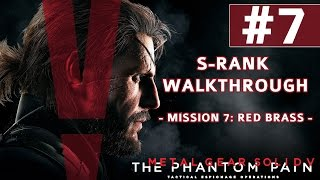 Metal Gear Solid V: The Phantom Pain - S-Rank Walkthrough - Mission 7: Red Brass