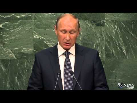 Putin Touts Support for Assad Regime in Address to UN General Assembly