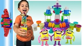 Play-Doh Ice Cream Castle Playset for Kids - Play-Doh EGG SURPRISE - Roblox & Mario Bros.