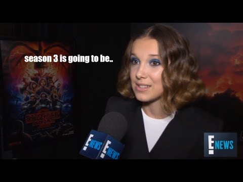 'Stranger Things' Cast About Season 3 (new big lore, new cast & more!)