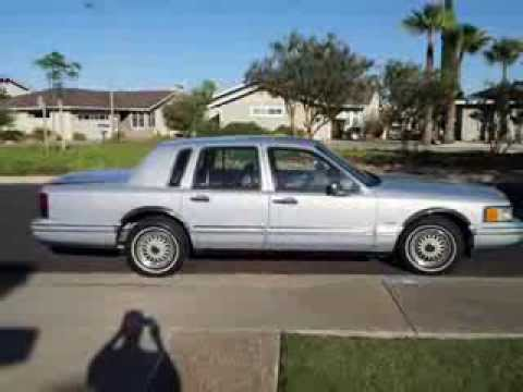 1993 lincoln town car executive series youtube. Black Bedroom Furniture Sets. Home Design Ideas