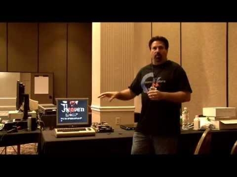 Drew and the FPGA Arcade Replay, Vampire 500/2000, modded SX-64