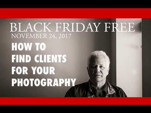 Developing a List for Commercial Photography Clients