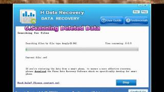 2015 H-Data Recovery for Android - Android data recovery software