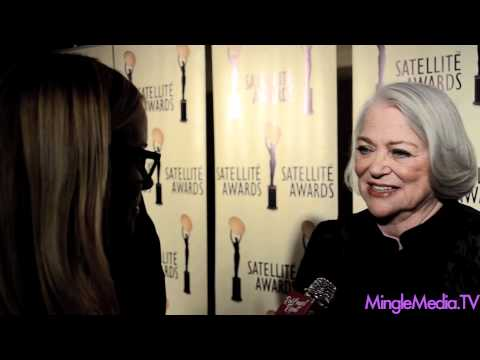Louise Fletcher at the 2011 International Press Academy Satellite Awards Red Carpet