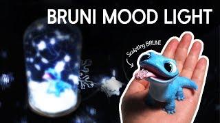 [띠부] 폴리머 클레이로 겨울왕국2 브루니 만들기 (브루니 무드등) Polymer Clay BRUNI/BRUNI Mood Light (FROZEN 2)