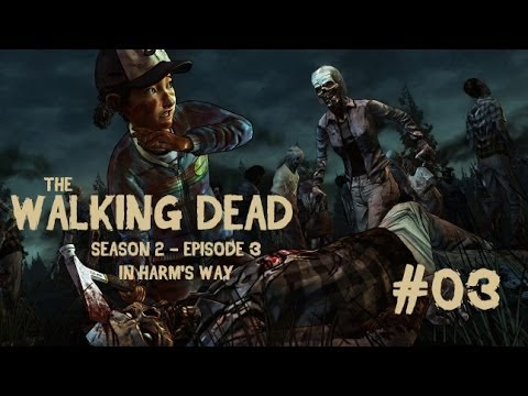 Let's Play The Walking Dead - S2 E3 #03 Mission Walkie Talkie