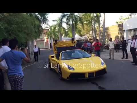 Ordinaire Ferrari   Sri Lanka Owned By Avenra Gardens Sachith De Silva 488 Spider