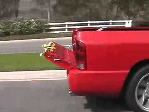 1 power tailgate assist for pickup truck liftgate airstream test youtube. Black Bedroom Furniture Sets. Home Design Ideas