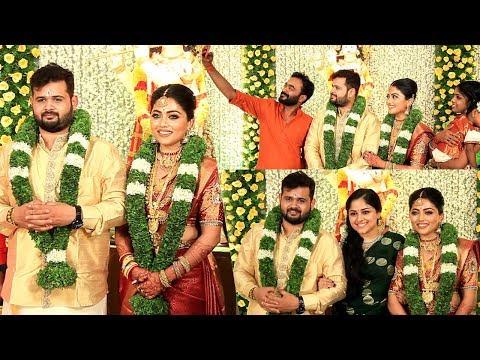 ബ്ലാക്കിലെ മമ്മൂട്ടിയുടെ 'മകൾ' വിവാഹിതയായി | Actress Janaki Krishnan Marriage With Abhishekh