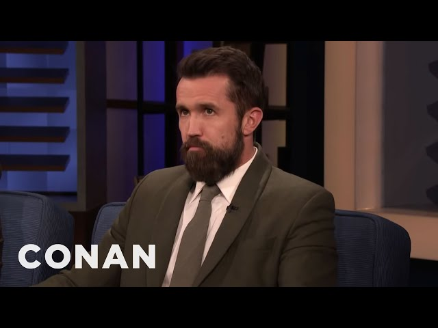 """Rob McElhenney Was Cut From A """"Late Night"""" Sketch - CONAN on TBS"""