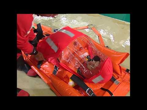 Safe Transfer  -  Maritime Hoisting Stretcher