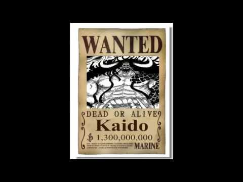 One Piece wanted posters 2015-2016