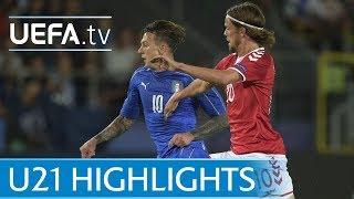Under-21 highlights: Denmark v Italy