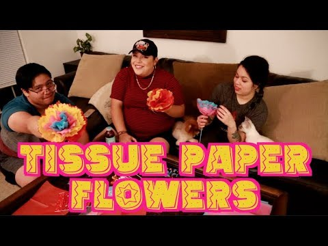 Mexican Tissue Paper Flower