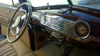 Full interior upholstery  restoration 1948 Chevy fleetmaster | ok van auto upholstery | los angeles