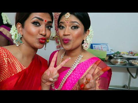 Coimbatore with Vithya   Bridal Job   Tamil hair and make up artist