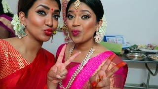Coimbatore with Vithya | Bridal Job | Tamil hair and make up artist