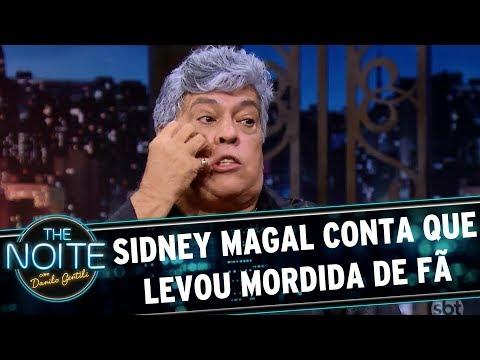 Sidney Magal conta que já levou mordida de fã   The Noite (14/08/17)