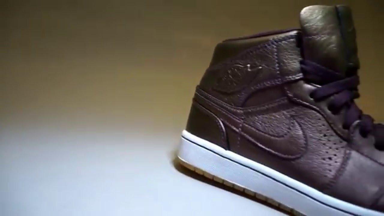 Air Jordan 1 Mid Nouveau Deep Burgundy Gum - YouTube d089356dc