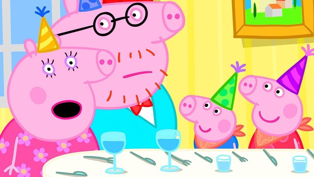 Peppa Pig Official Channel | Peppa Pig Celebrates Grandpa Pig's Birthday