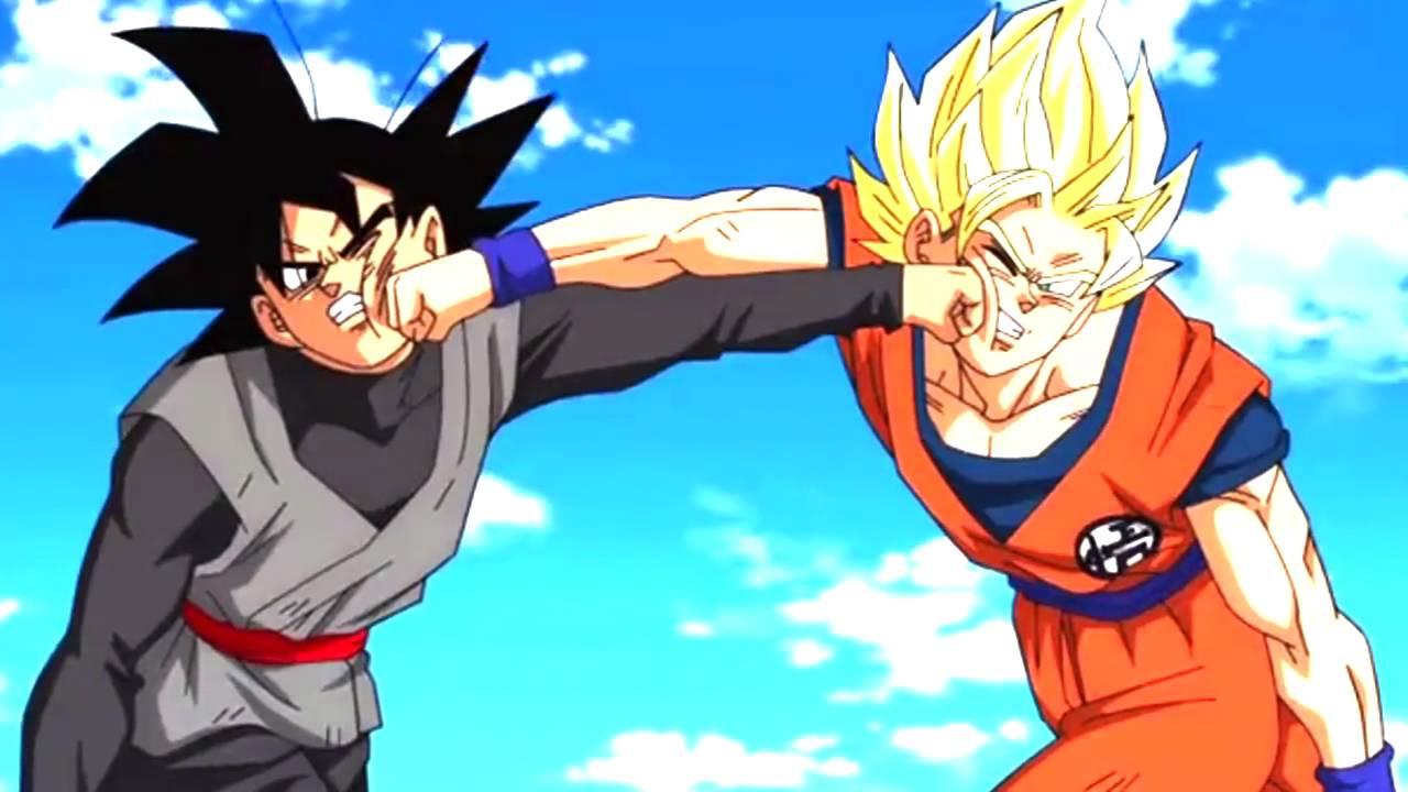 AMV Goku Ssj2 Vs Black Goku Adrenalina