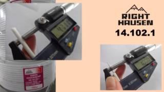 Коаксиальный кабель Right Hausen(Внешняя оболочка кабелей Right Hausen обладает повышенной прочностью, Стойка к воздействию высоких и низких..., 2015-10-03T07:14:02.000Z)