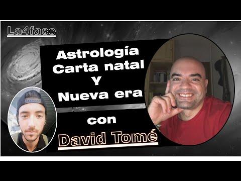 ASTROLOGIA, CARTA NATAL Y NUEVA ERA: con David Tomé