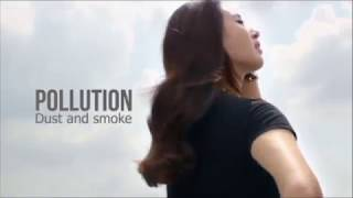 Did you know that Pollution makes hair weak that causes hairfall? I...