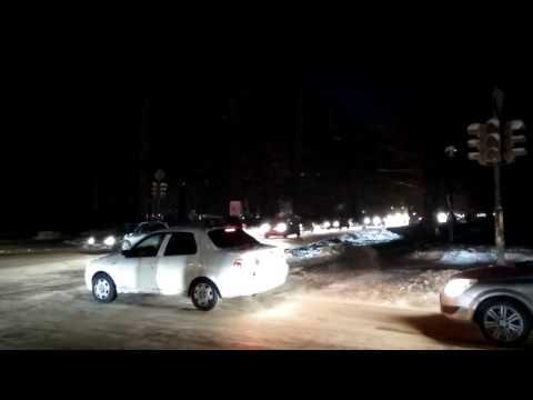 Уралмаш и Эльмаш без электричества. Екатеринбург, 15 ноября 2016 года.