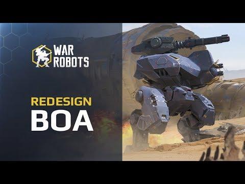 War Robots: Boa new model