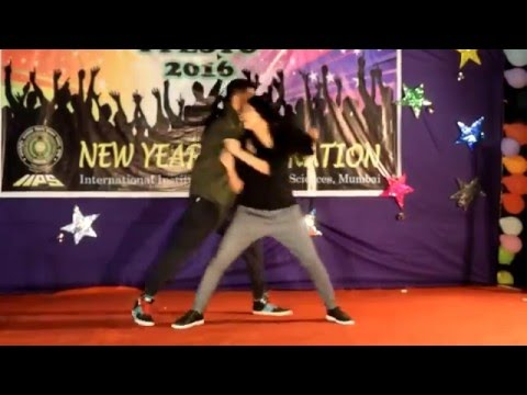 Ankit Namrata dance_ MANMA EMOTION JAGE RE_ DJ WALE BABU... IIPS new year 2016